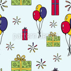 Let Us Celebrate Seamless Vector Pattern Design