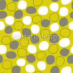 Floating And Dancing Dots Seamless Vector Pattern Design