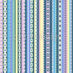 Geometrische Bordüren Vektor Muster