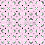 Circles and Dots Seamless Vector Pattern Design