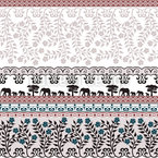 Romantic Safari Seamless Vector Pattern Design