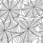 Spinnennetz Nahtloses Vektormuster