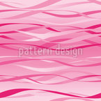 Waves Design Pink Seamless Vector Pattern Design