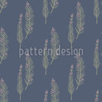 Fairy Branches Seamless Vector Pattern Design