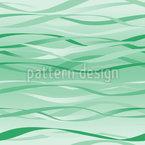 Wellen In Mint Nahtloses Vektormuster