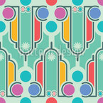 Art Deco Fun Seamless Vector Pattern Design
