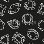 So Many Diamonds Seamless Vector Pattern Design