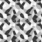 Zerknüllte Oberfläche Rapportiertes Design