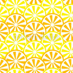 Lemon And Orange Slices Pattern Design