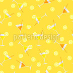 Cocktail Seamless Vector Pattern Design