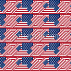 Patriotic USA Seamless Vector Pattern Design