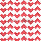 Pixel Heart Pattern Design