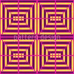 Quadrat Gitter Nahtloses Vektormuster