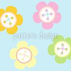 Cute As A Button Vector Design