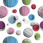 Misplaced Dots Seamless Vector Pattern Design
