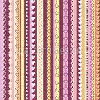 Ich Liebe Streifen Muster Design