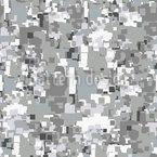 Tempestade pixel Design de padrão vetorial sem costura