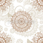 Orientalisches Mandala Vektor Muster