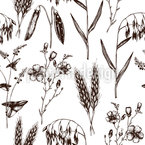Eco Plants Pattern Design
