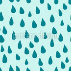 Refreshing Rain Vector Pattern