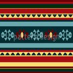 Persischer Kelim Rapportiertes Design