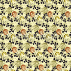 Blooming Clover Design Pattern