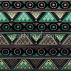Viking Tribal Repeating Pattern