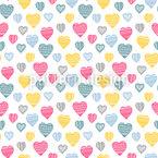 Herz Erwärmend Nahtloses Muster