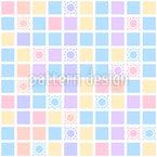 Quadratisches Spiel Nahtloses Vektormuster