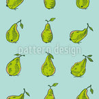 Picking Pears Vector Design