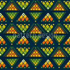 Tribal Arrows Pattern Design