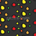 Confetti Everywhere Seamless Vector Pattern Design