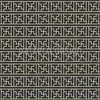 Chinesische Linien Nahtloses Vektormuster