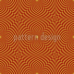 Op Art To The Square Seamless Vector Pattern Design