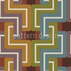Brücken und Tunnel Nahtloses Muster