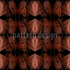 Jungle Leaves Vector Pattern