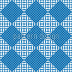 Easy Patchwork Seamless Vector Pattern