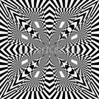 Center Of Op Art Vector Design