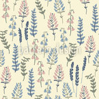 Ivory Garden Seamless Vector Pattern Design