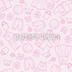 Childrens World Seamless Vector Pattern Design