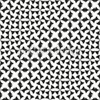 Ondas Abstratas Design de padrão vetorial sem costura