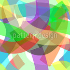 Freestyle Ribbons Vector Pattern