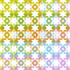 スターズのたっぷり シームレスなベクトルパターン設計
