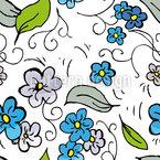 Blumen auf der Wiese Nahtloses Vektormuster