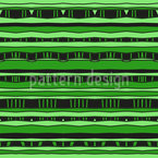 Connected Stripes Vector Ornament