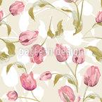Tulpen Nahtloses Vektormuster