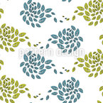 Gust Of Wind Seamless Vector Pattern Design