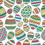 Verzierte Eier Designmuster