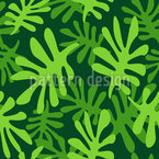 Chlorophyll Seamless Vector Pattern Design