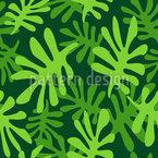 Clorofila Design de padrão vetorial sem costura